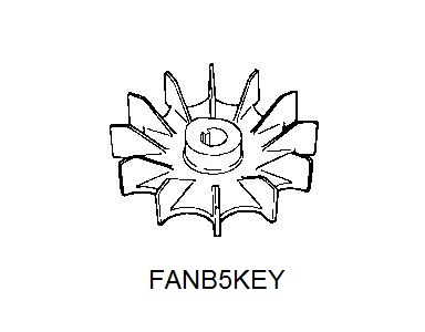 Fan B5KEY Drawing