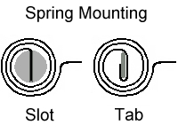 Spring Mounting Drawing